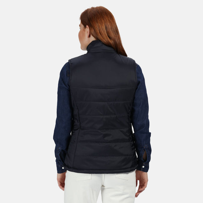 Black - Back - Regatta Womens-Ladies Stage II Insulated Bodywarmer