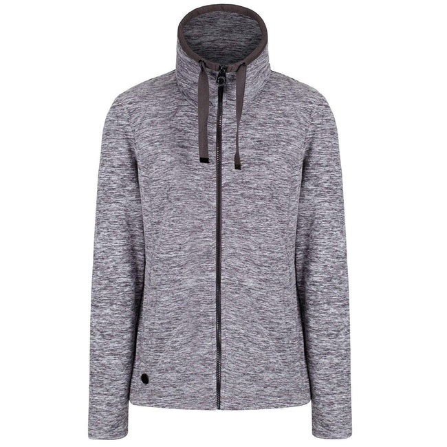 Iron - Front - Regatta Great Outdoors Womens-Ladies Zabel Full Zip Fleece