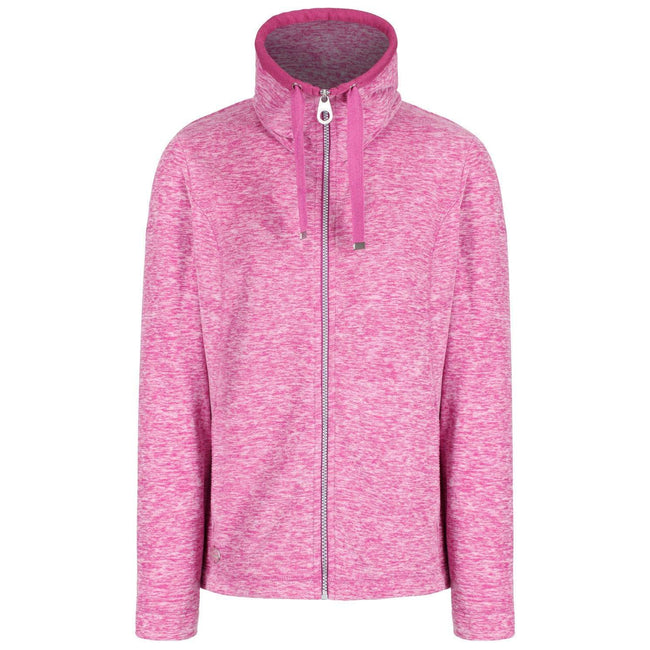 Light Steel - Front - Regatta Great Outdoors Womens-Ladies Zabel Full Zip Fleece