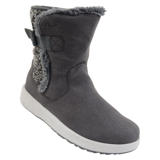 Grey - Front - Dare 2B Womens-Ladies Morzine Snow Boots