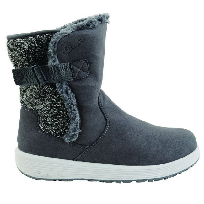 Grey - Back - Dare 2B Womens-Ladies Morzine Snow Boots