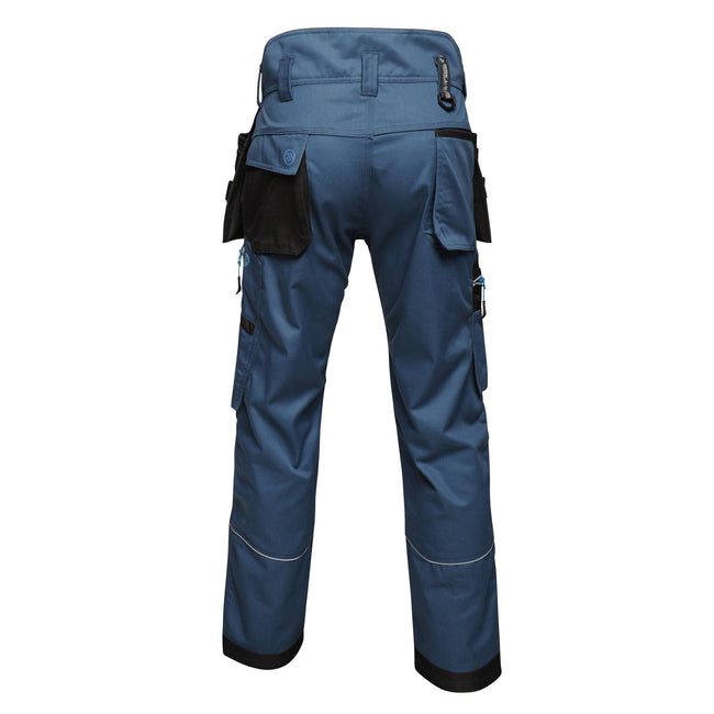 Blue Wing - Back - Regatta Mens Execute Holster Premium Work Trousers