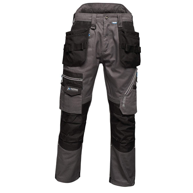 Iron - Front - Regatta Mens Execute Holster Premium Work Trousers