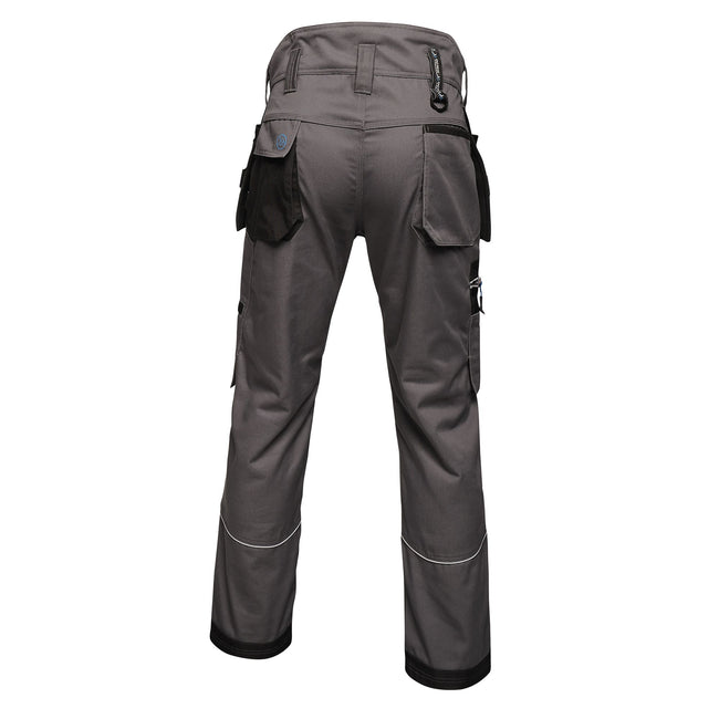 Iron - Back - Regatta Mens Execute Holster Premium Work Trousers