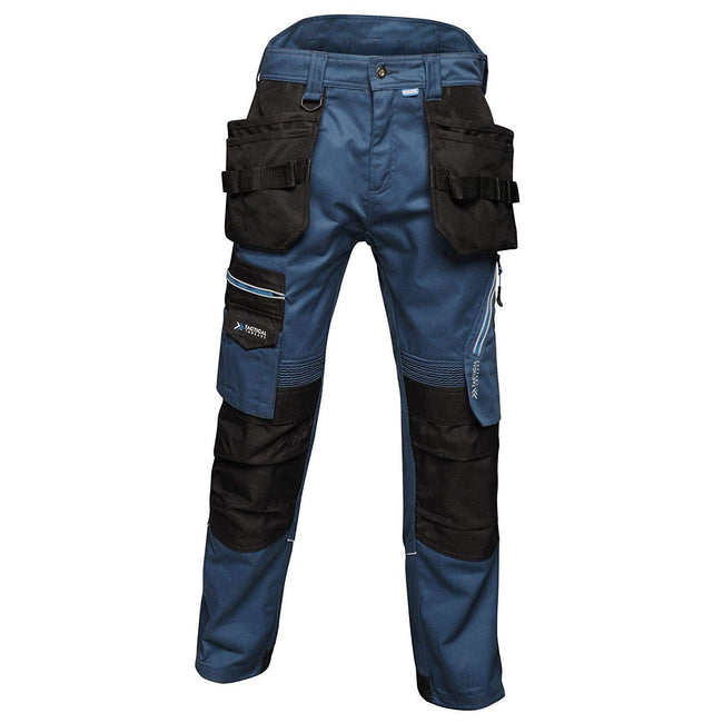 Blue Wing - Front - Regatta Mens Execute Holster Premium Work Trousers