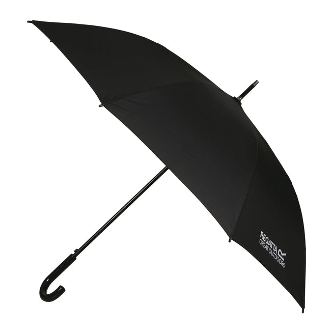 Black - Front - Regatta Large Umbrella