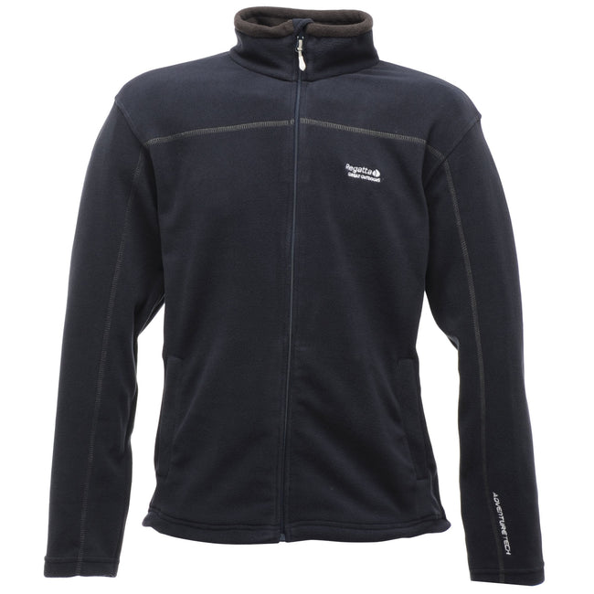 Black - Front - Regatta Great Outdoors Mens Adventure Tech Fairview Fleece Top