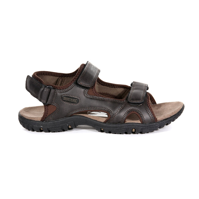 Peat - Back - Regatta Great Outdoors Mens Haris Sandals
