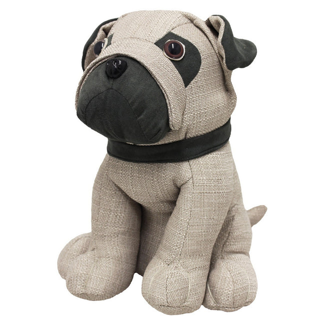 Multicoloured - Front - Riva Home Pug Doorstop