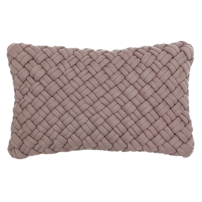 Blush - Front - Riva Paoletti Kriss Cushion Cover