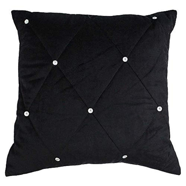 Cream - Lifestyle - Riva Paoletti New Diamante Cushion Cover