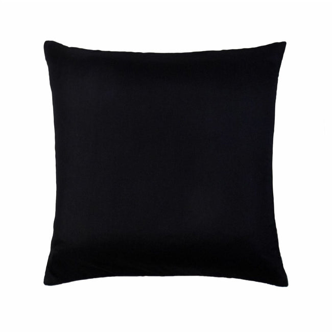 Black - Front - Riva Paoletti New Diamante Cushion Cover
