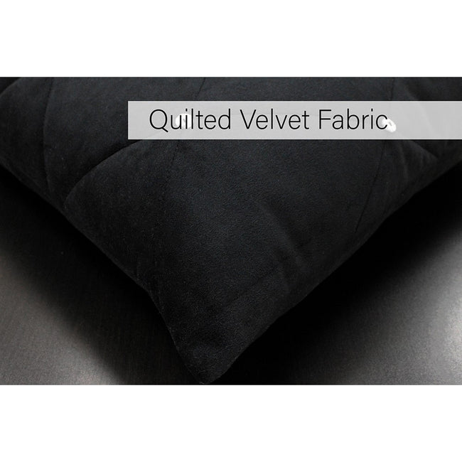 Black - Lifestyle - Riva Paoletti New Diamante Cushion Cover