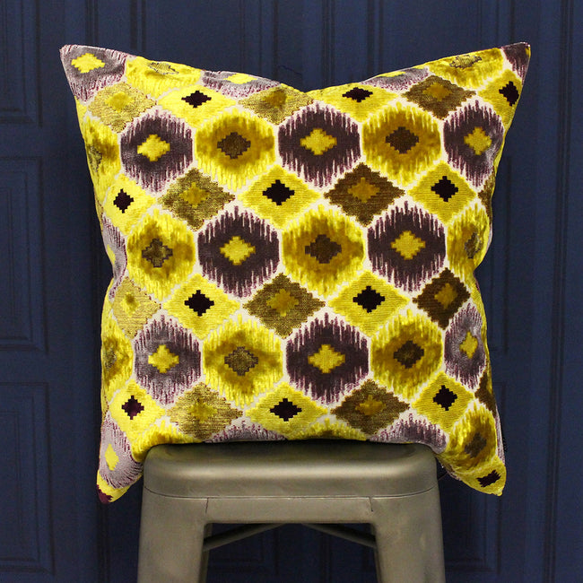 Citrine Yellow - Pack Shot - Riva Paoletti Ares Cushion Cover