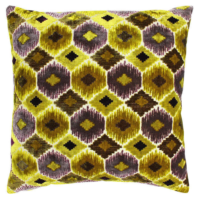 Citrine Yellow - Front - Riva Paoletti Ares Cushion Cover