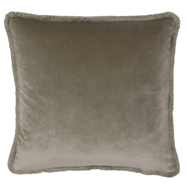 Taupe - Front - Riva Paoletti Freya Cushion Cover