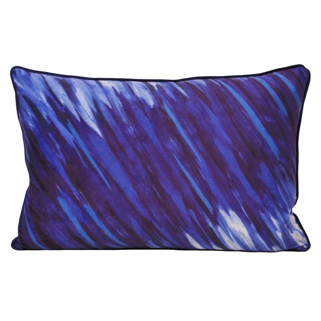 Blue - Front - Riva Home Art Attack Cushion Cover