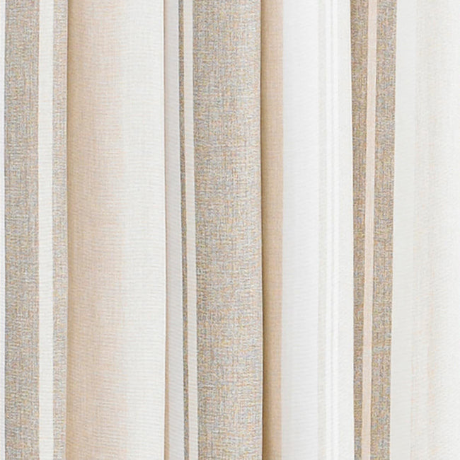 Black - Front - Riva Home Broadway Ringtop Curtains