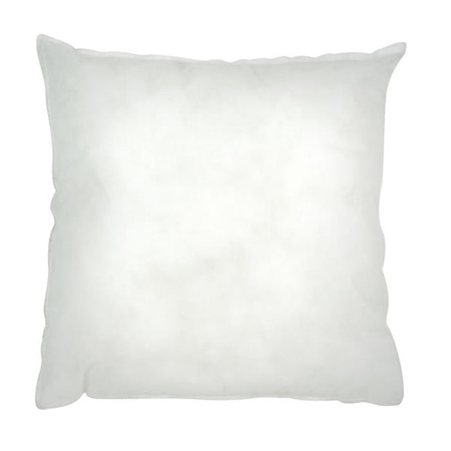 White - Front - Riva Home Polyester Cushion Pad