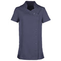 Navy - Front - Premier Womens-Ladies *Orchid* Tunic - Health Beauty & Spa - Workwear