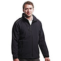 Black-Black - Back - Regatta Mens Sandstorm Hardwearing Workwear Softshell Jacket (water Repellent)