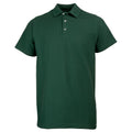 Bottle Green - Front - RTY Workwear Mens Pique Knit Heavyweight Polo Shirt (S-10XL) - Extra Large Sizes