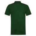 Bottle Green - Back - RTY Workwear Mens Pique Knit Heavyweight Polo Shirt (S-10XL) - Extra Large Sizes