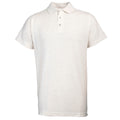 Ash - Front - RTY Workwear Mens Pique Knit Heavyweight Polo Shirt (S-10XL) - Extra Large Sizes