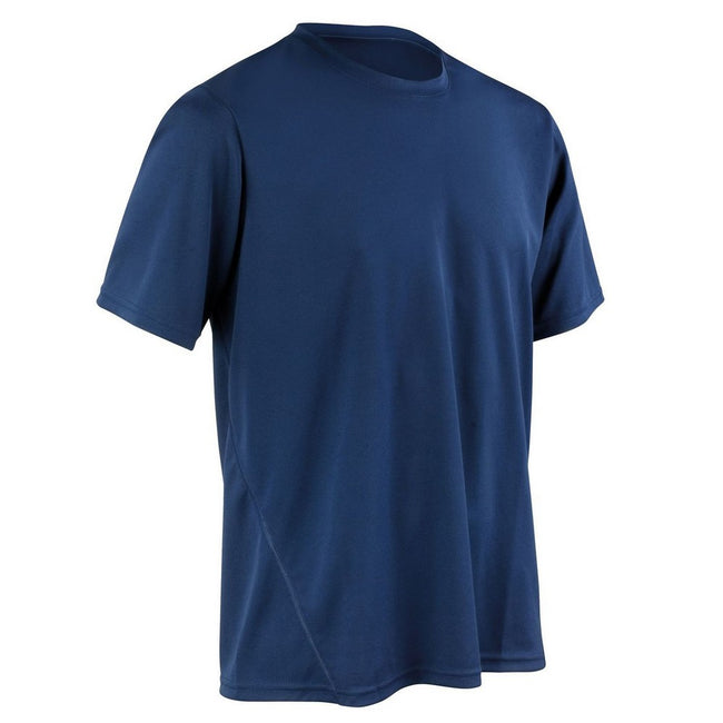 Lime Green - Front - Spiro Mens Quick-Dry Sports Short Sleeve Performance T-Shirt