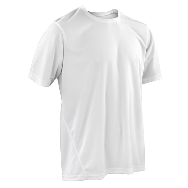 Navy - Front - Spiro Mens Quick-Dry Sports Short Sleeve Performance T-Shirt
