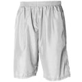 White - White - Front - Tombo Teamsport Mens Teamwear All Purpose Longline Lined Sports Short