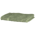 Moss Green - Front - Towel City Luxury Range 550 GSM - Hand Towel (50 X 90 CM)