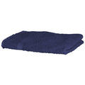 Navy - Front - Towel City Luxury Range 550 GSM - Hand Towel (50 X 90 CM)