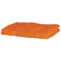 Orange - Front - Towel City Luxury Range 550 GSM - Hand Towel (50 X 90 CM)