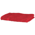 Red - Front - Towel City Luxury Range 550 GSM - Hand Towel (50 X 90 CM)