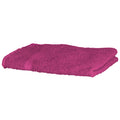Fuchsia - Front - Towel City Luxury Range 550 GSM - Hand Towel (50 X 90 CM)