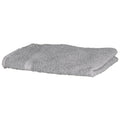 Grey - Front - Towel City Luxury Range 550 GSM - Hand Towel (50 X 90 CM)