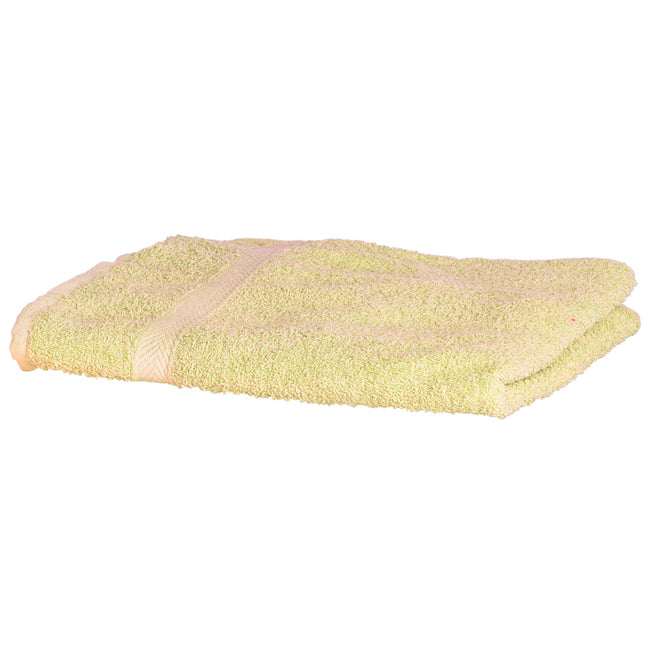 Lemon - Front - Towel City Luxury Range 550 GSM - Hand Towel (50 X 90 CM)