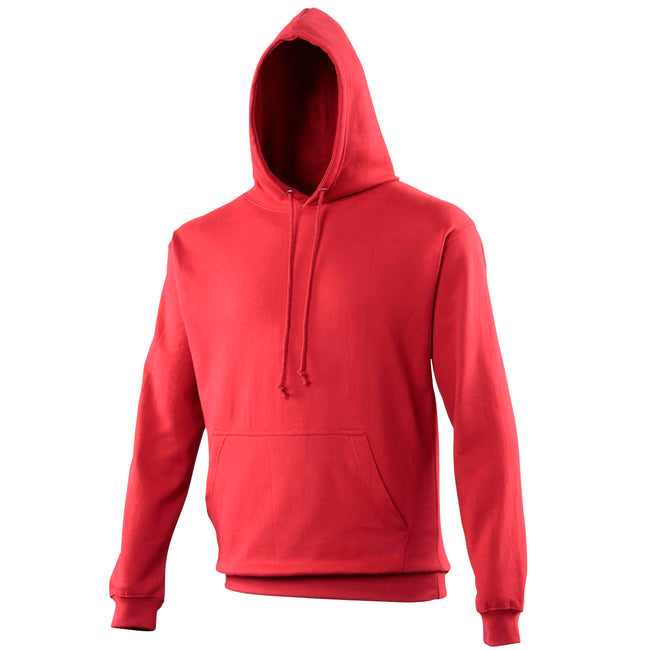 Red Hot Chilli - Front - Awdis Unisex College Hooded Sweatshirt - Hoodie