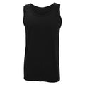Charcoal - Front - Gildan Mens Softstyle® Tank Vest Top