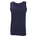 Sport Grey - Back - Gildan Mens Softstyle® Tank Vest Top