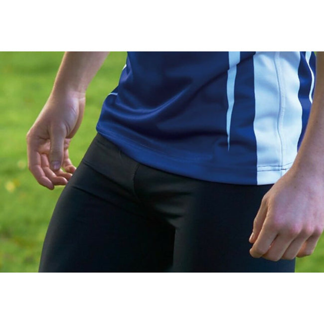 Black-Red - Front - KooGa Mens Stadium Match Rugby Shirt