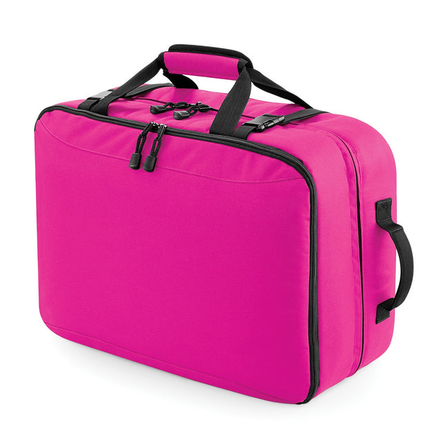 Fuchsia - Front - Bagbase Escape Ultimate Cabin Holdall Travel Bag (34 Litres)