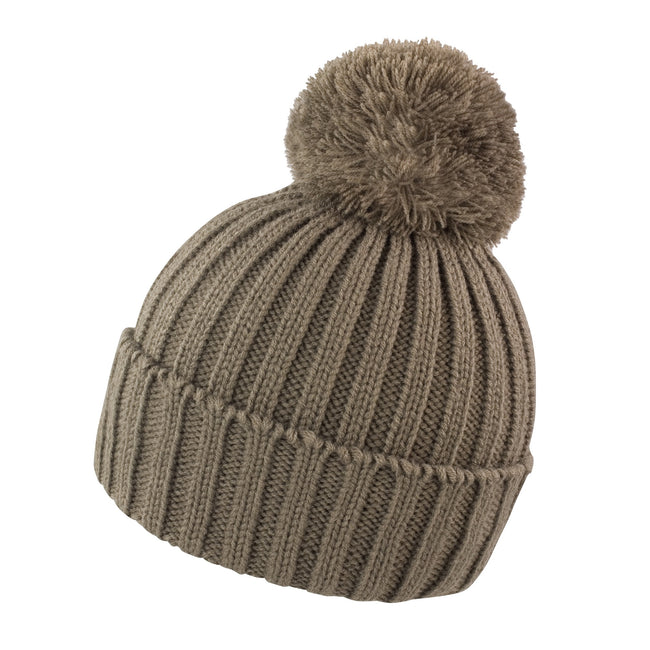 Fennel - Front - Result Unisex Winter Essentials HDi Quest Knitted Beanie Hat