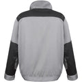Grey Black - Orange - Back - Result Mens Work-Guard Lite Workwear Jacket (Breathable And Windproof)
