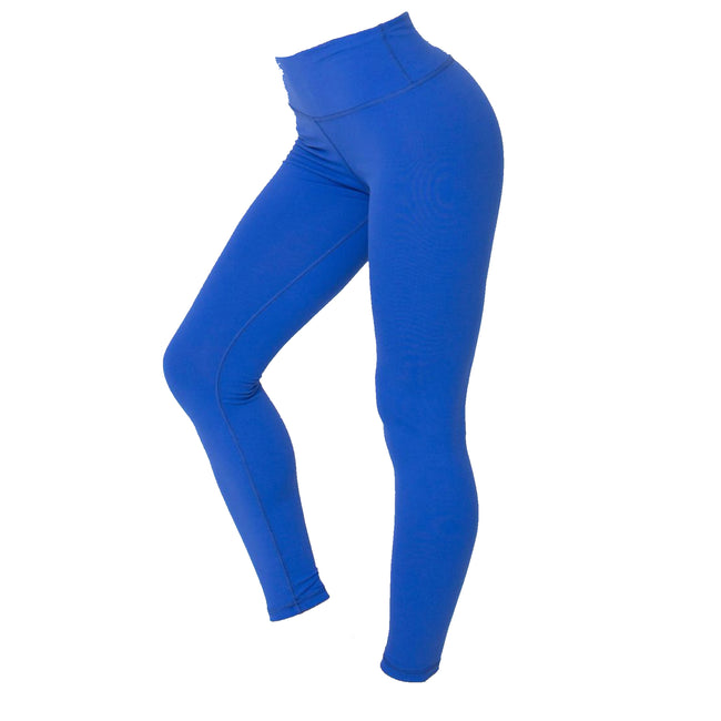 Royal Blue - Front - American Apparel Womens-Ladies Plain Fitness Leggings-Bottoms