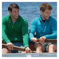 Kelly Green - Front - Fruit Of The Loom Mens Lightweight Zip Neck Sweatshirt