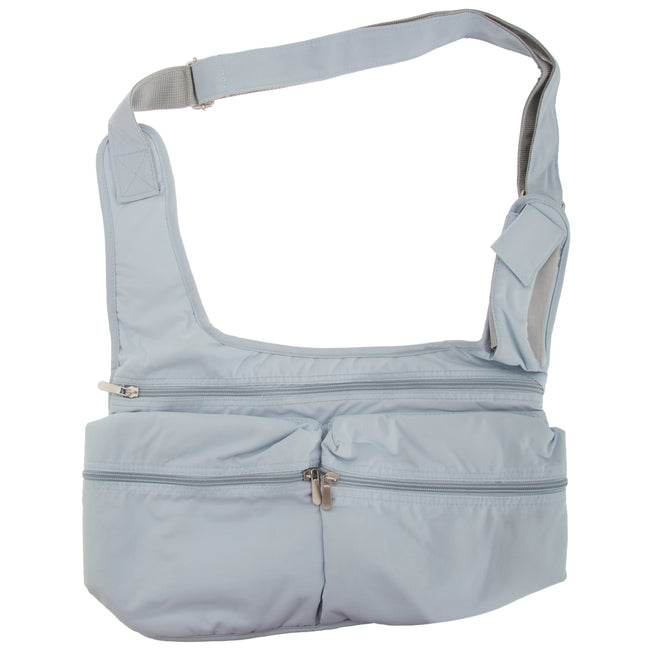 Cool blue - Front - Quadra Ladies Messenger Bag (5 Litres)