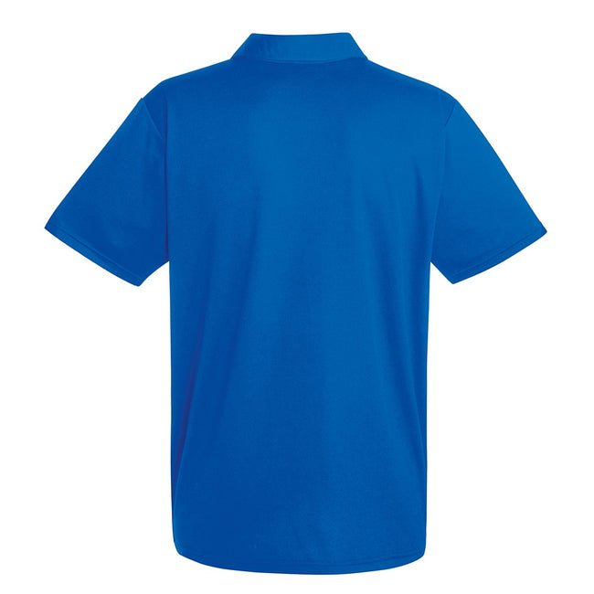 Royal Blue - Front - Fruit Of The Loom Mens Moisture Wicking Short Sleeve Performance Polo Shirt
