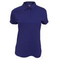 Deep Navy - Front - Fruit Of The Loom Womens-Ladies Moisture Wicking Lady-Fit Performance Polo Shirt